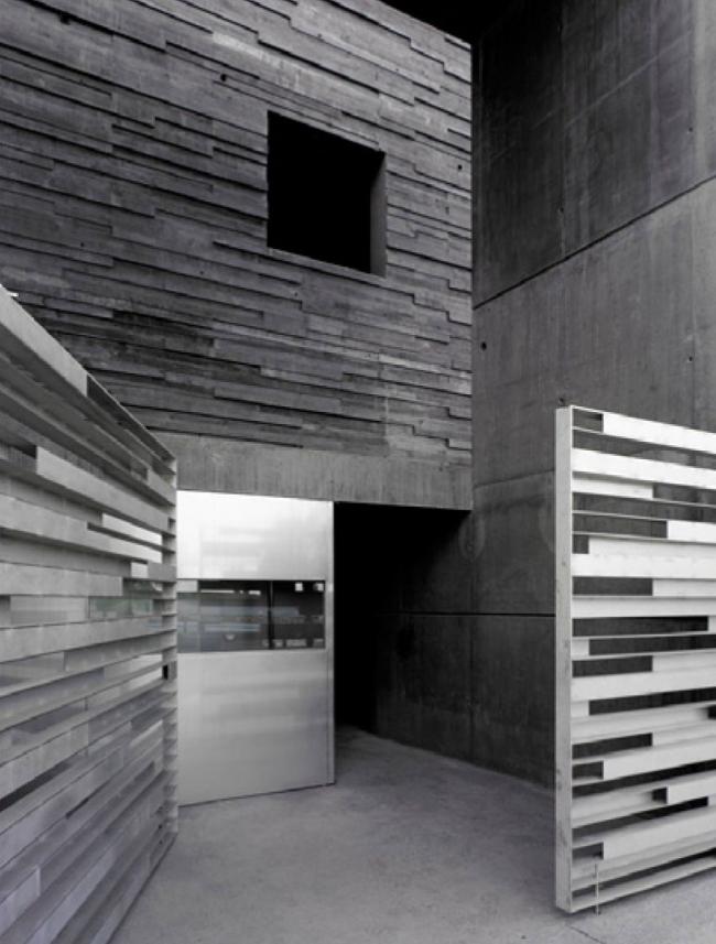Отделка фасадов. Баня-атриум в спа-отеле. Проект Марии Тюлькановой