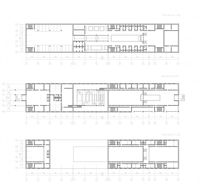 Планы. Баня-атриум в спа-отеле. Проект Марии Тюлькановой