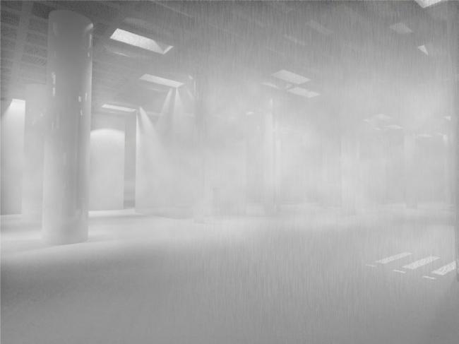 Интерьеры. Баня атмосферных явлений. Проект Максима Зуева