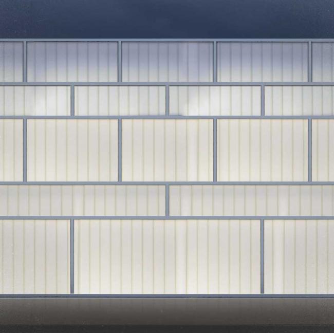 Фрагмент фасада. Баня атмосферных явлений. Проект Максима Зуева