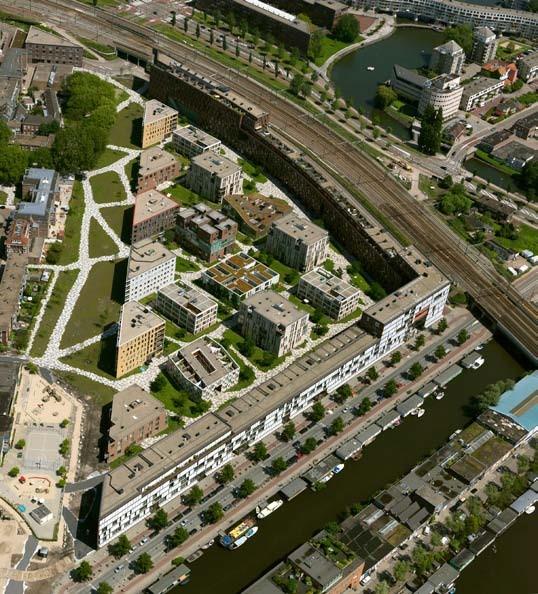 Район Het Funen. Предоставлено de Architekten Cie.
