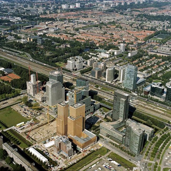 Комплекс Amsterdam Symphony. Предоставлено de Architekten Cie.