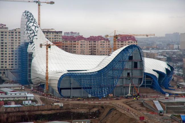 Центр Гейдара Алиева. © Zaha Hadid Architects