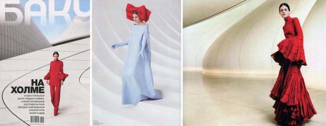Фотографии Центра из журнала Баку, Май-Июнь, 2013. © Barrie Hullegie