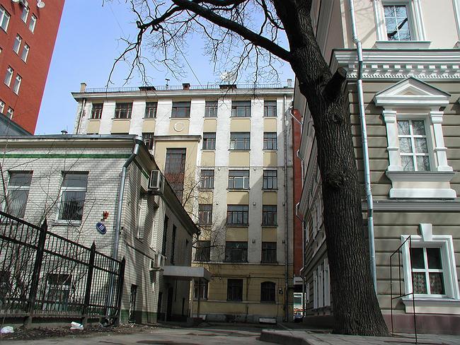 Южный фасад до реконструкции
