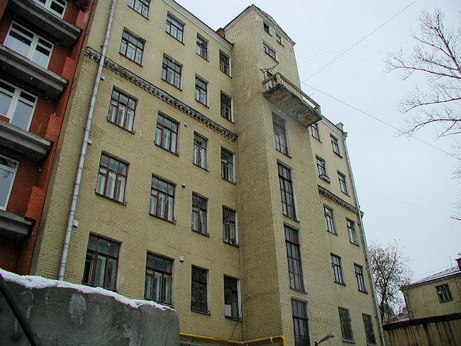 Северный фасад до реконструкции