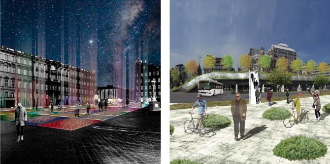 Проект Анастасии Тер-Сааковой и Алексея Котлярского. Иллюстрации предоставлены организаторами конкурса