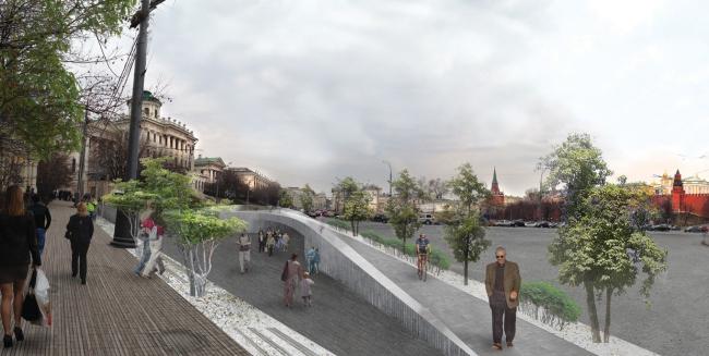 Проект архитектурного бюро «Студио-ТА». Иллюстрация предоставлена организаторами конкурса