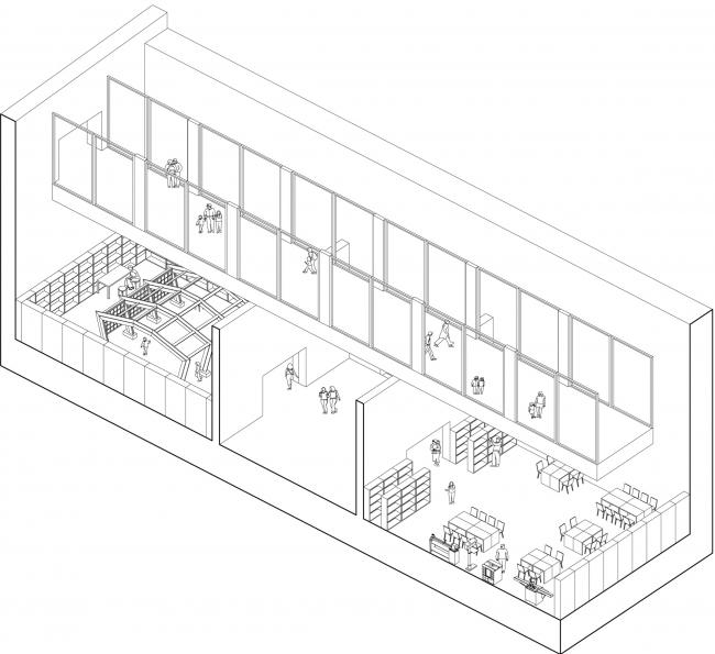 Схема устройства мастерских. Проект Валерии Самович