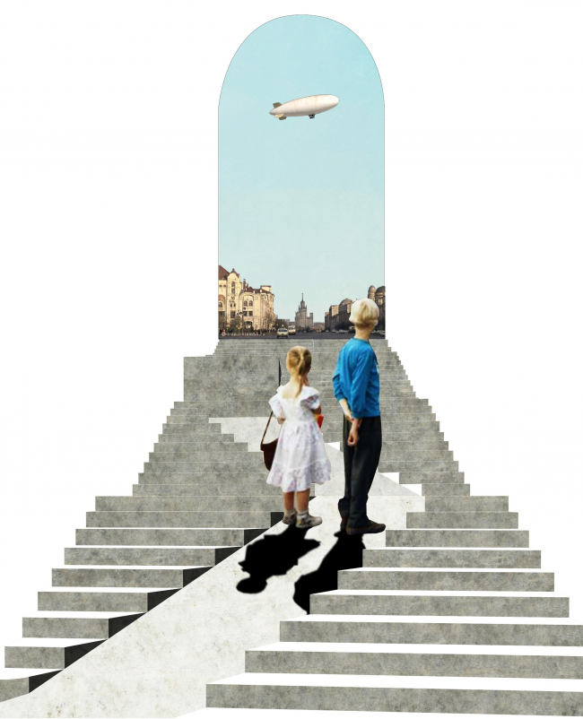 Многообразие лестниц как центрального игрового элемента. Проект Юлии Андрейченко