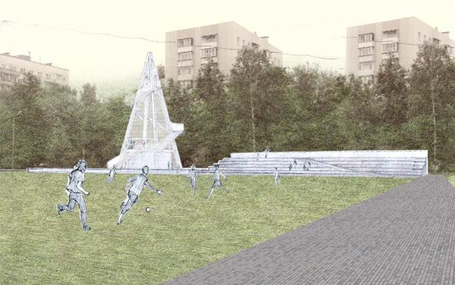 Башня для игры. Проект Марии Карцевой