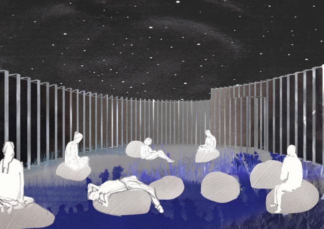 Ночной вид. Проект Юлии Арнаутовой