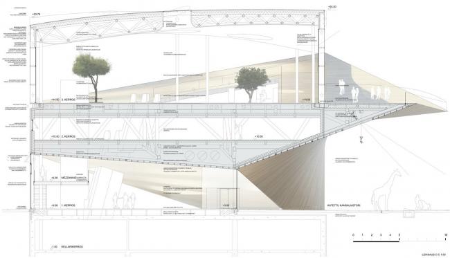 1-я премия. Проект Käännös бюро ALA © Arkkitehtitoimisto ALA Oy