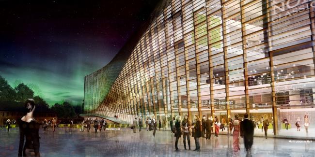 Поощрительная премия. Проект «Сердцебиение Хельсинки» («Зеленый мегаполис») бюро Хеннинга Ларсена © Henning Larsen Architects