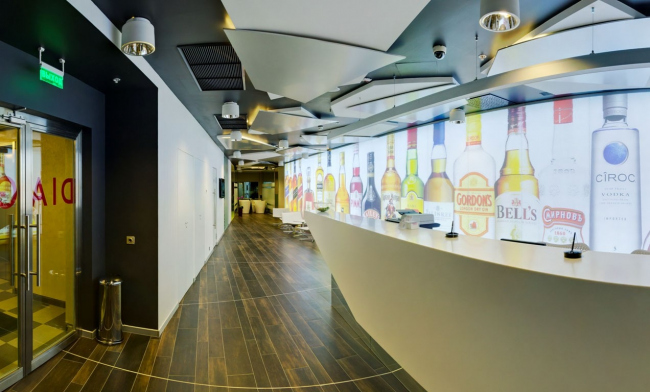 Representation office of Diageo Company © Sergey Estrin Architects