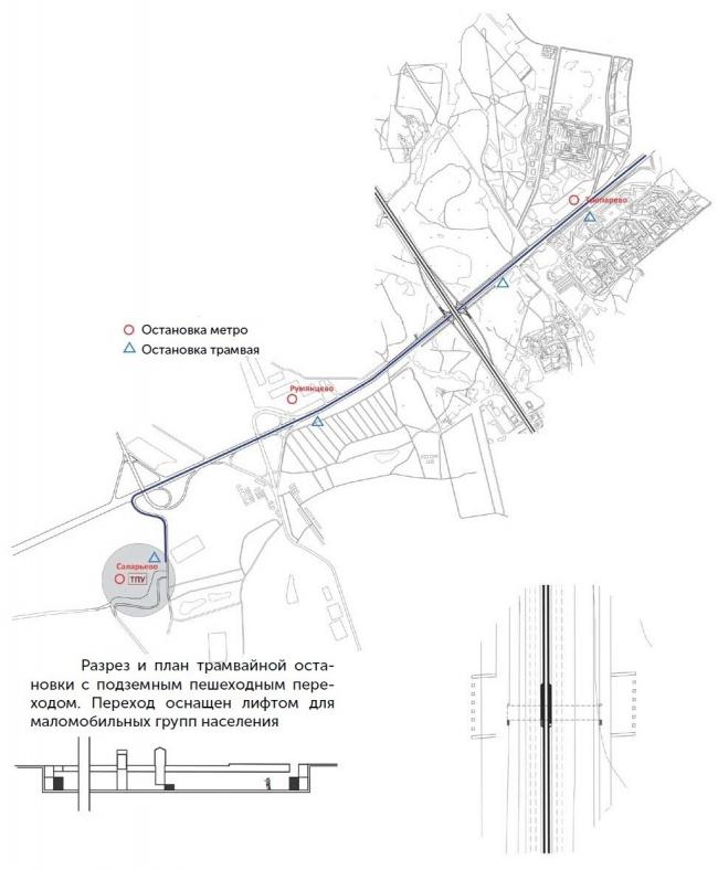 Пересечение Ленинский проспект + МКАД. Варианты решения проблем. © МАРШ