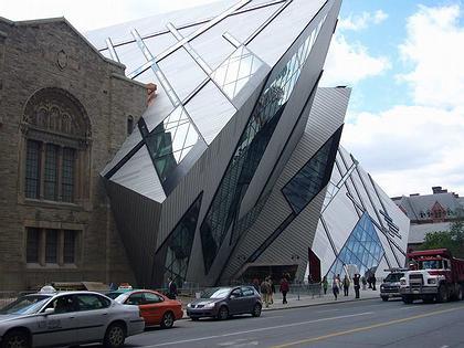 Кристалл - Крыло Майкла Ли-Чина Королевского Музея Онтарио