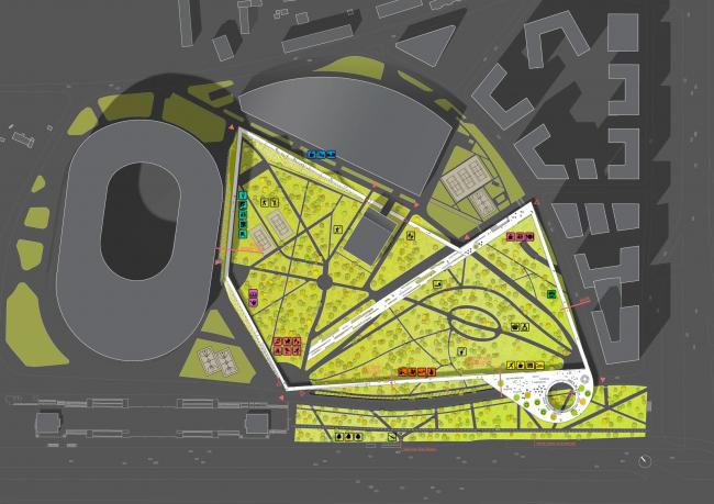 Генеральный план. «Второе дыхание». Архитектурно-градостроительная компания Buromoscow