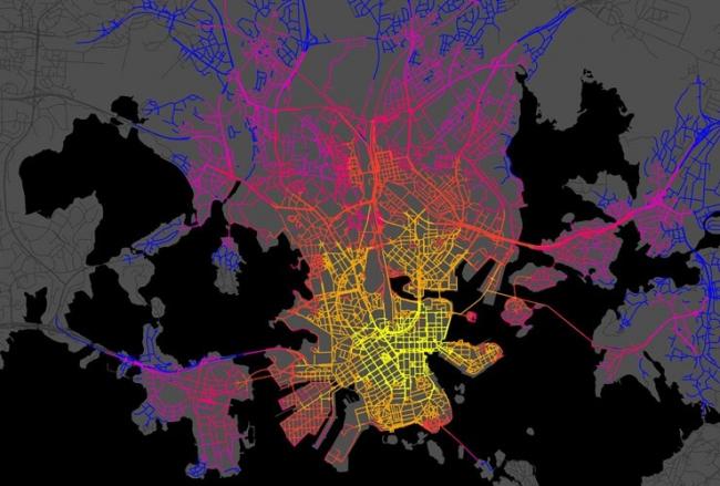 Mobility in chain. Устойчивая транспортная стратегия для Хельсинки