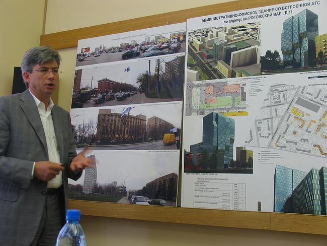 Предпроект административно-офисного здания со встроенной АТС на Рогожском Валу, 11. Фотографии Ирины Фильченковой