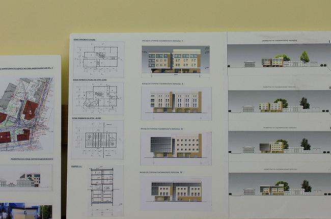 Проект регенерации здания под административное использование в Съезжинском пер., 3, стр. 1,2