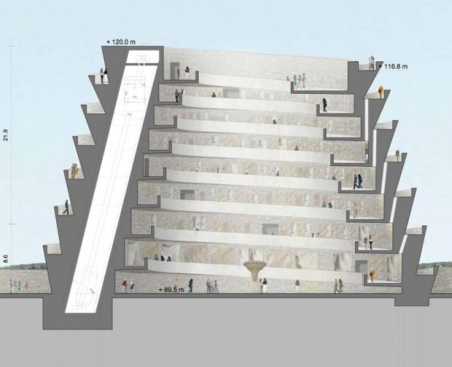 Образовательно-выставочный центр MEMO © Adjaye Associates