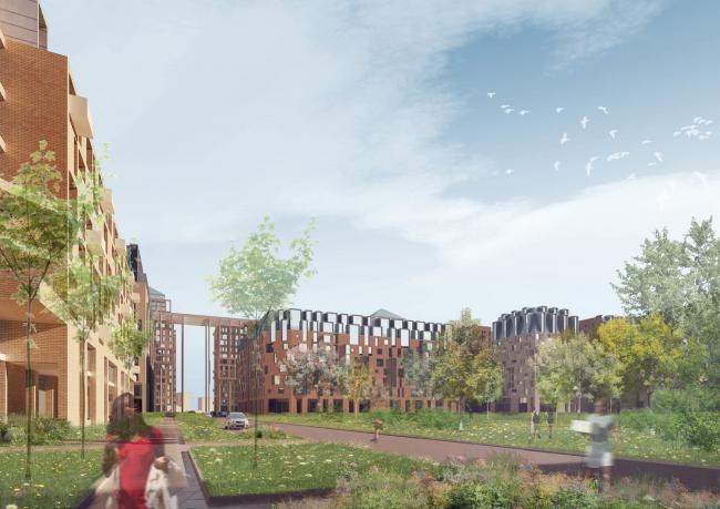 Конкурсный проект «Идеальный город» © Архитектурное бюро «Студия 44»