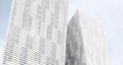 Хельмут Ян. Жилой комплекс Veer Towers в Лас-Вегасе