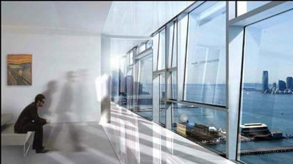 Жан Нувель. Жилой дом на Элевенс Авеню, 100 в Нью-Йорке
