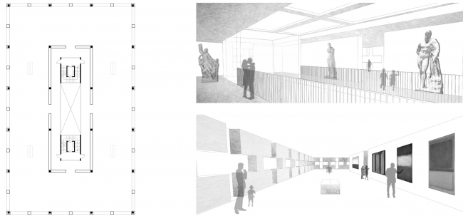 Музей. Вечный жилой дом. Проект Евгении Бакеевой