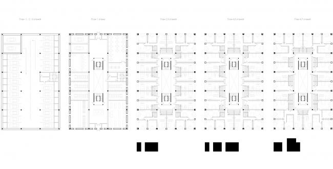 Планы. Вечный жилой дом. Проект Евгении Бакеевой