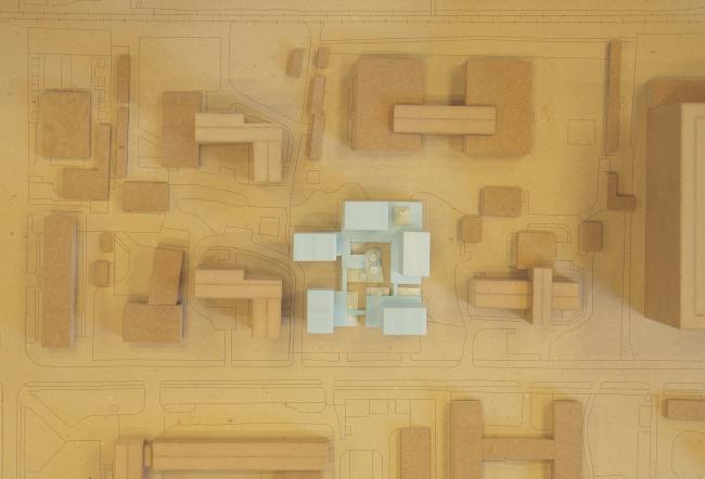 Генплан. Трансформируемое жилье. Проект Михаила Сергеева