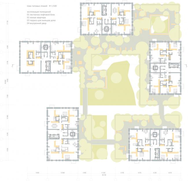 Планы. Трансформируемое жилье. Проект Михаила Сергеева