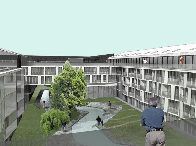 Кварталы арендного жилья. Проект Егора Королева