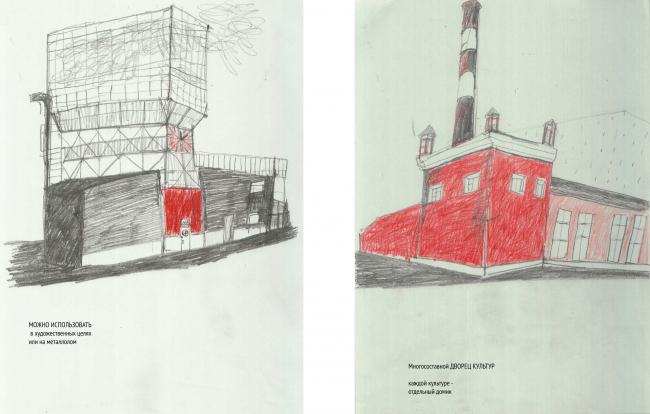 Сценарии использования существующих объектов. Долгоиграющее жилье. Проект Антонины Хлызовой