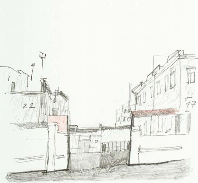 Общий вид. Долгоиграющее жилье. Проект Антонины Хлызовой