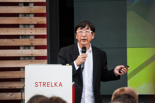 Тойо Ито читает лекцию на «Стрелке» © Strelka Institute