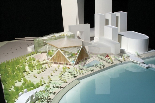 Проект Шигеру Бана и Thomas Chow Architects