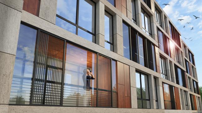 Комплекс апартаментов «TriBeCa». Последняя версия © Homeland Group