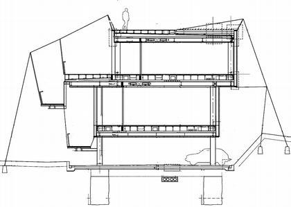 Технологический центр Ла Риоха. Разрез