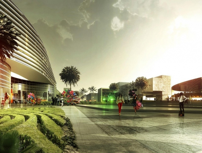 Конгресс-центр Майами-Бич. Конкурсный проект © OMA