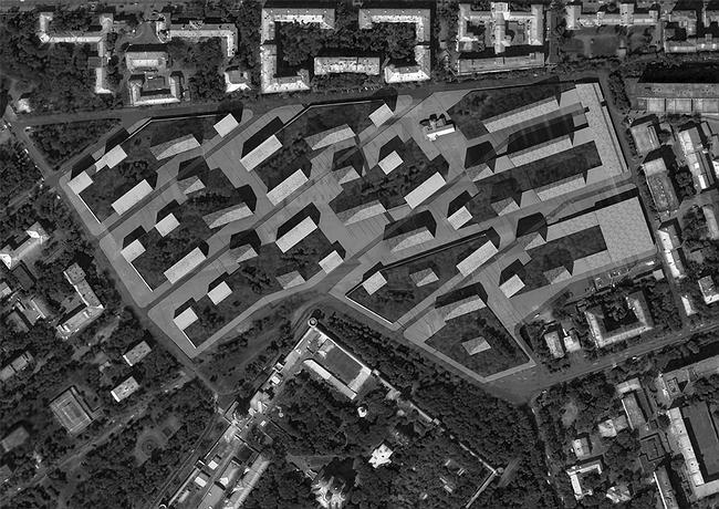 План квартала на месте завода «Красный пролетарий»