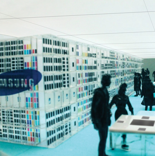 Магазин Samsung Experience © OMA