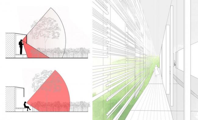 Музей и сад Альбера Кана © Kengo Kuma & Associates