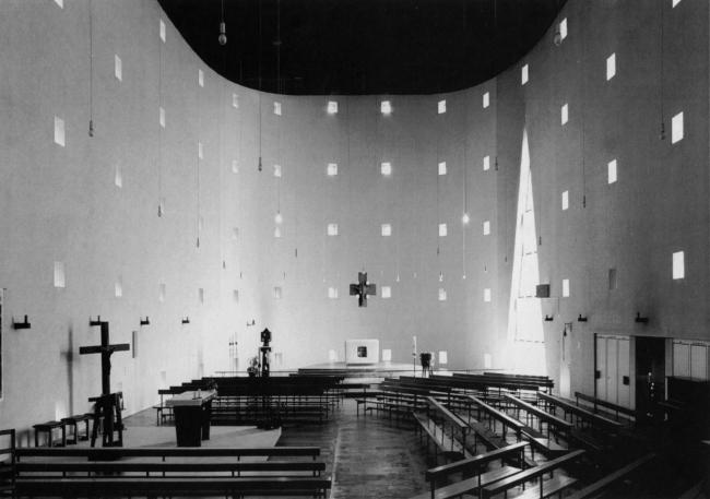 Детский сад - реконструкция церкви Св. Себастьяна. Вид церкви до реконструкции © Ahlbrand–Dornseif + Wakonigg