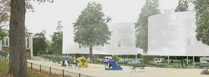 Жилой комплекс на Авеню дю Марешаль Файоль