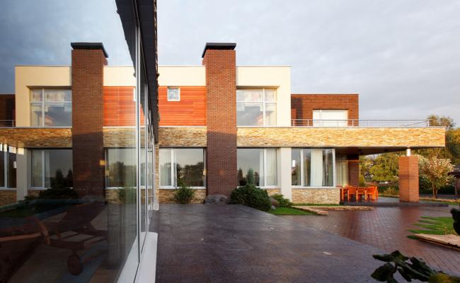 Частный загородный дом Oakland house © Архитектурное бюро Романа Леонидова