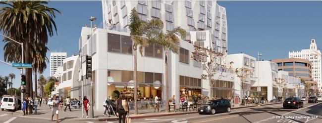 Башня Ocean Avenue Project © Gehry Partners