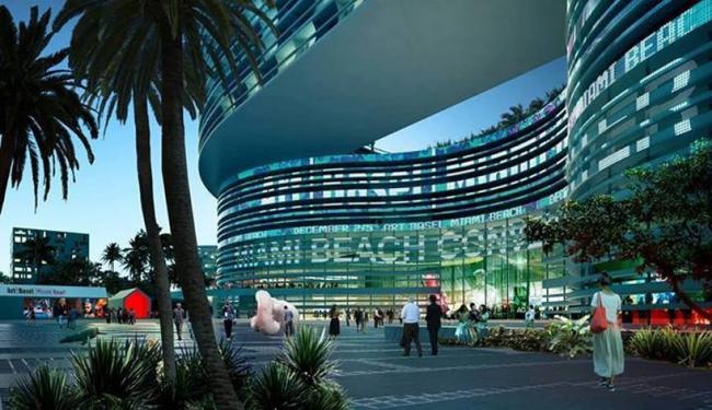 Конгресс-центр Майами-Бич © OMA