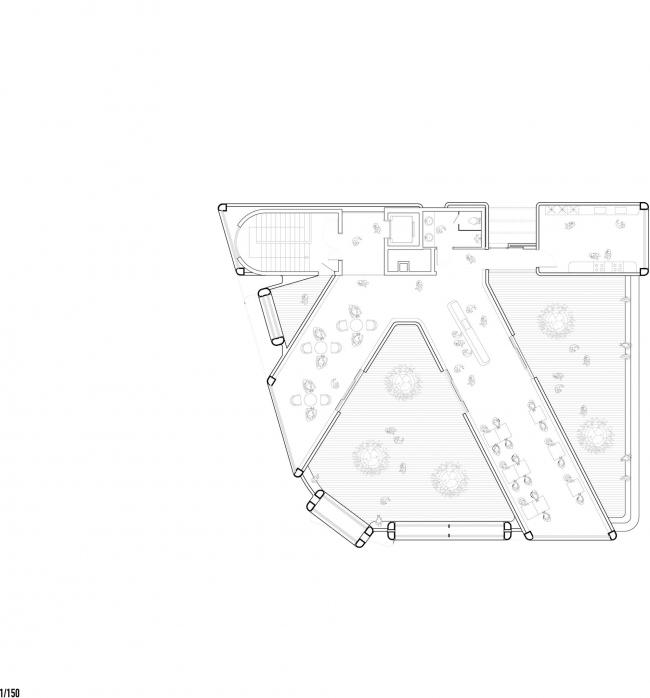 Многофункциональный комплекс Chungha © MVRDV